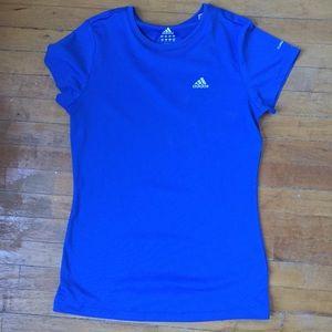 Blue Adidas Running T-shirt